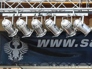 6er-Bar Par64 Scheinwerfer